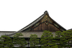 Shogunpaviljong royaltyfri fotografi