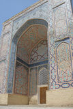 Shohizinda - a monument of medieval architecture in Samarkand. Stock Photos