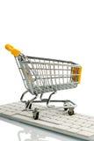 Shoipping cart Stock Photos
