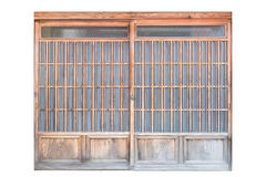 Shoji , Traditional Japanese door. Window or room divider consisting Royalty Free Stock Image