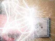 Shok eléctrico Imagenes de archivo