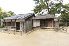 Shoka Sonjuku Academy. Is Yoshida Shōin private school of 1850 Royalty Free Stock Images