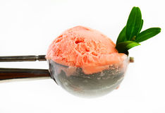 Shokolodnoe ice-cream cone Stock Photography