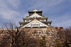 Osaka castle. Shokun Palace, Osaka castle, Japan Stock Photo