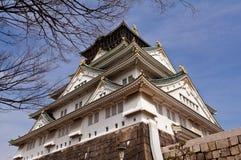 Osaka-Schloss Stockbild