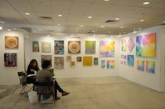 Shonandai-Galerie in Singapur erschwinglicher Art Fair 2017 Lizenzfreies Stockbild