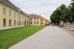 Shonbrunn宫殿在维也纳 库存图片