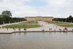 Shonbrunn宫殿 库存图片