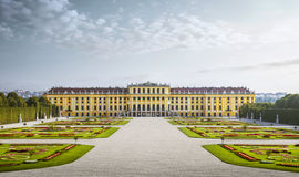 Shonbrunn palace in Vienna, Austria Royalty Free Stock Photography