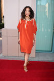 Shonda Rhimes,Sandra Oh. LOS ANGELES - APR 2:  Sandra Oh arriving at the Welcome To ShondaLand: An Evening With Shonda Rhimes & Friends at Leonard H. Goldenson Stock Photography