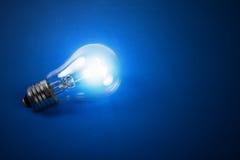 Shone electric bulb. Royalty Free Stock Photos