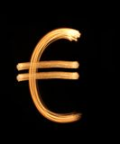 Shone euro. Royalty Free Stock Photo
