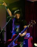 Shonen Knife live in Cork, Ireland 2014 Royalty Free Stock Image