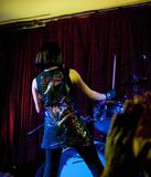 Shonen Knife live in Cork, Ireland 2014 Stock Image