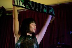 Shonen Knife live in Cork, Ireland 2014 Royalty Free Stock Photography