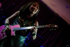 Shonen Knife live in Cork, Ireland 2014 Royalty Free Stock Images