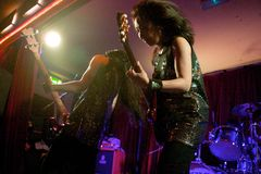 Shonen Knife live in Cork, Ireland 2014 Stock Photos