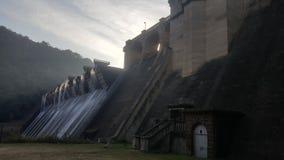 Shongweni水坝墙壁 免版税图库摄影