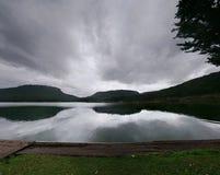Shongweni dam. Cano launch at Shongweni dam, KZN, South Africa Royalty Free Stock Photo