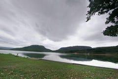 Shongweni dam. Reflections and clouds at Shongweni dam, KZN, South Africa Royalty Free Stock Photo