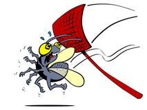 Shoo a mosca Imagem de Stock Royalty Free