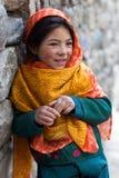 Shoolgirl di Balti Fotografia Stock