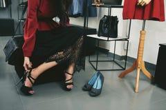 Shooping для ботинок Стоковое Изображение