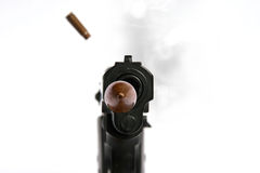 Shoot the gun Royalty Free Stock Image