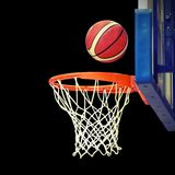Shoot hoops after the shooting magic Royalty Free Stock Image