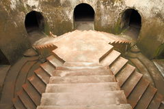 A Shoot of Nguling Well. A Shoot taken on Nguling Well, TamanSari, Sultan's Palace Jogjakarta, five stairway Stock Images
