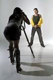 shoot studio Στοκ Εικόνες