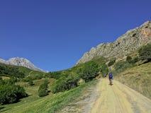 Holidays at Picos de Europa, Asturias, Spain royalty free stock photography