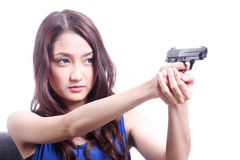 Shoot them up Stock Photography