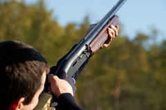shooter θέσης στοκ εικόνα με δικαίωμα ελεύθερης χρήσης