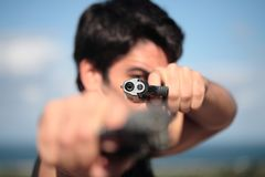 shooter Στοκ φωτογραφίες με δικαίωμα ελεύθερης χρήσης