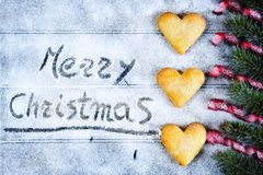 Background for Christmas greeting card Royalty Free Stock Image