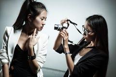 Shooting de la manera Imagen de archivo libre de regalías