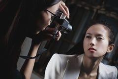 Shooting de la manera Fotos de archivo libres de regalías