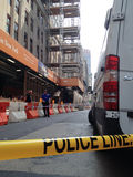 Shooting de New York City en la 34ta calle Imágenes de archivo libres de regalías