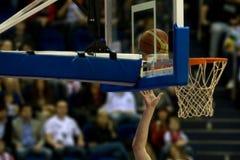Shooting del baloncesto Fotos de archivo