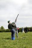 Shooting del tiro de pichón Imagen de archivo
