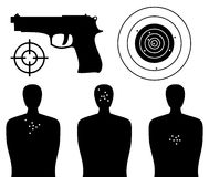 Shooting Gallery Stock Images