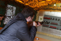 Shooting gallery Royalty Free Stock Photo