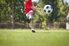 Shooting at Goal stock images