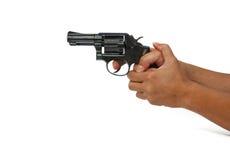 Shooting gun Royalty Free Stock Images