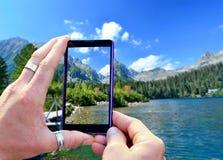 Shooting High Tatra mountains Stock Images