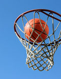 Shooting Hoops Royalty Free Stock Photos