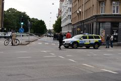 Shooting in Malmo, Sweden 180618 Stock Photography