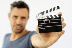 Shooting movies Stock Photography
