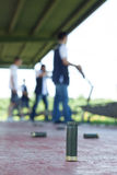Shooting range outdoor Royalty Free Stock Images